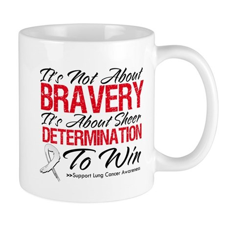 Bravery Lung Cancer Mug