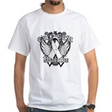 Winged Emblem Lung Cancer Shirt