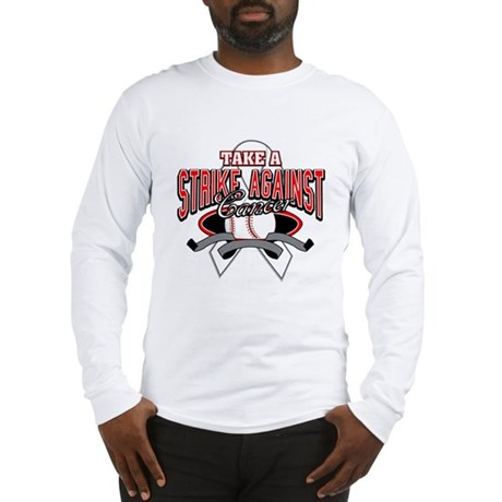 Take a Strike Lung Cancer Long Sleeve T-Shirt
