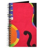Abstract Guitar Journal for Musicians