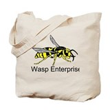 WASP Enterprises 3 Tote Bag