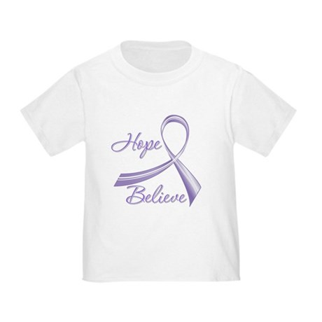 Hope Believe Hodgkin's Toddler T-Shirt