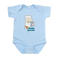 ILY Rhode Island Infant Bodysuit