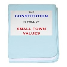 Constitution Values baby blanket