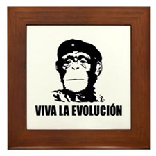 Viva La Evolucion Framed Tile