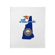 ILY New Hampshire Throw Blanket