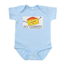 Fo' Cheesy Infant Creeper