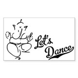 Let's Dance Decal