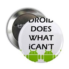 "Funny Android 2.25"" Button (100 pack)"