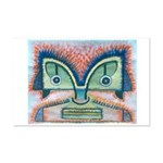 Ethnographic Mask Mini Poster Print