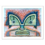 Ethnographic Mask Small Poster