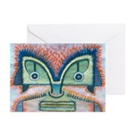 Ethnographic Mask Greeting Cards (Pk of 10)