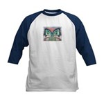 Ethnographic Mask Kids Baseball Jersey