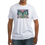 Ethnographic Mask Fitted T-Shirt