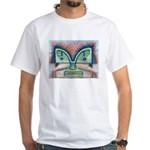 Ethnographic Mask White T-Shirt