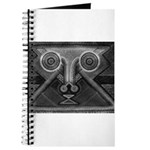 Joyful Mask B&W Journal