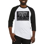 Joyful Mask B&W Baseball Jersey
