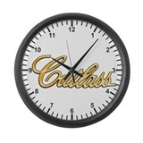 Cutlass Gold Large Wall Clock