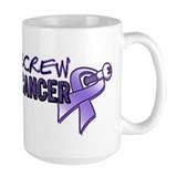 Screw Cancer Hodgkin's Ceramic Mugs