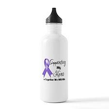 Supporting Hero Hodgkin's Water Bottle