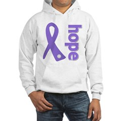 Hope Ribbon Hodgkin's Hooded Sweatshirt