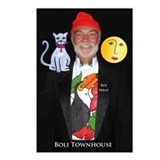 Boli Townhouse Mascots Postcards (Package of 8)