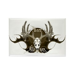 Deer Slayer Rectangle Magnet (100 pack)
