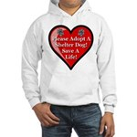 Adopt A Shelter Dog Hooded Sweatshirt