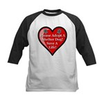 Adopt A Shelter Dog Kids Baseball Jersey