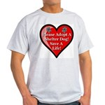 Adopt A Shelter Dog Light T-Shirt