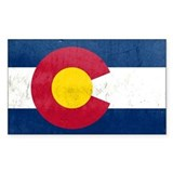 Colorado Flag Decal