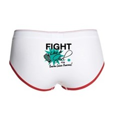 Fight Like A Girl Ovarian Cancer Women's Boy Brief