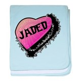 Jaded baby blanket