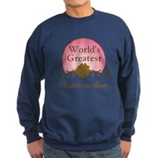 Stylish World's Greatest Sister-In-Law Sweatshirt
