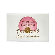 Stylish World's Greatest Great Grandma Rectangle M
