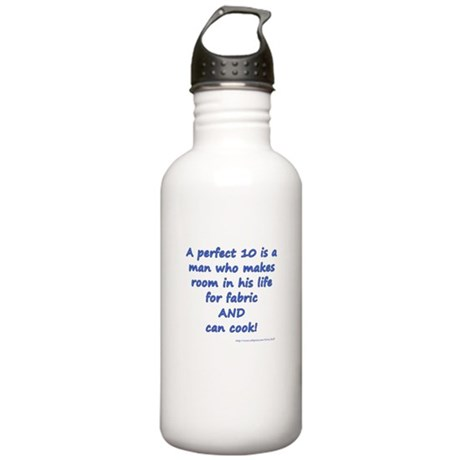 A Perfect Ten Stainless Water Bottle 1.0L
