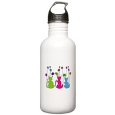 Cat Art Water Bottle