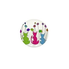 Cat Art Mini Button (100 pack)