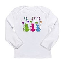 Cat Art Long Sleeve Infant T-Shirt