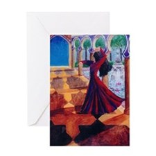 """Dreams of Spain"" Greeting Card"