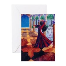 """Dreams of Spain"" Greeting Cards (Pk of"