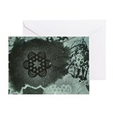 Snowflake Painting Greeting Card