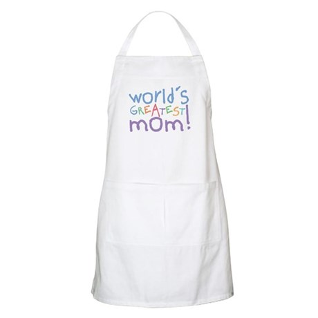 World's Greatest Mom! BBQ Apron