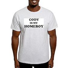 Cody Is My Homeboy Ash Grey T-Shirt