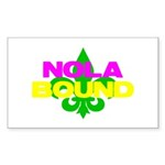 NOLA Bound Sticker (Rectangle 10 pk)