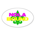 NOLA Bound Sticker (Oval 10 pk)