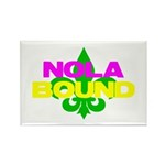 NOLA Bound Rectangle Magnet (10 pack)