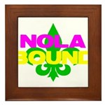 NOLA Bound Framed Tile