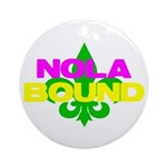 NOLA Bound Ornament (Round)