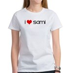 I Love Sami Women's T-Shirt